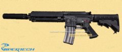 Viper Tech Vi-46 with Angrygun silencer  GBB